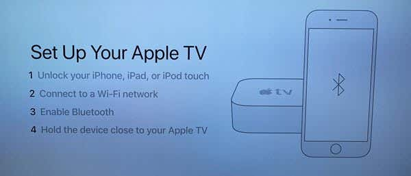 how to setup apple tv 4k for the first time rh switchingtomac com Samsung Smart TV Apple TV Remote